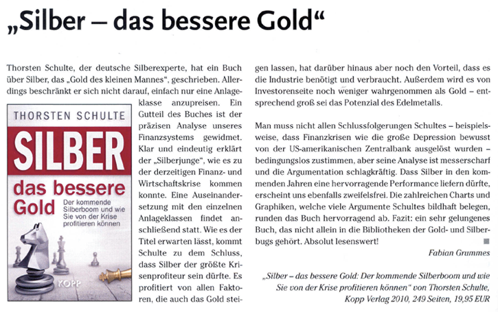 Rezension aus Smart-Investor 12/2010