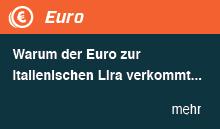 Warum der Euro zur italienischen Lira verkommt