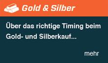 Über das richtige Timing beim Gold- und Silberkauf