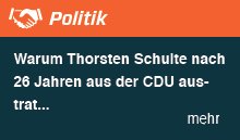 Warum Thorsten Schulte nach 26 Jahren aus der CDU austrat