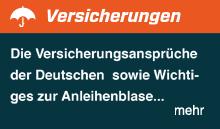 Die Deutschen und ihre Versicherungsansprüche