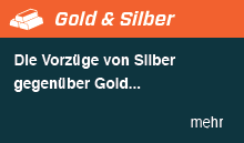 Die Vorzüge von Silber gegenüber Gold