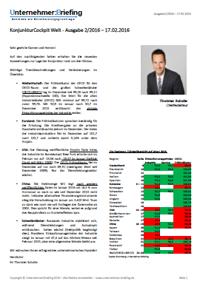 Kostenlose Probeausgabe - Unternehmer:Briefing Konjunktur Cockpit